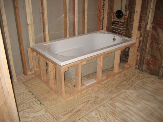 Welcome to craig yvonne 39 s victorian home for Replace bathroom subfloor